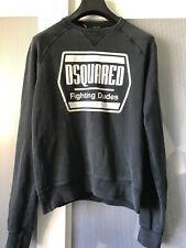 DSQUARED 2 Sweater Felpa Maglione Top ULTRA RARA 100% autentico elemento