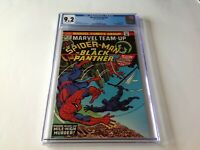 MARVEL TEAM UP 20 CGC 9.2 WHITE PAGES BLACK PANTHER SPIDER-MAN MARVEL COMICS