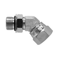 6902 08 08 Hydraulic Fitting 12 Male O Ring X 12 Female Npt Pipe Swivel 45