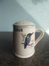 Brixham Pottery - Bird Design - Flour Shaker