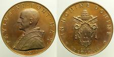 Medaglia Papa Paolo VI In Nomine Domini Anno I 21-VI -1963 Ae mm44