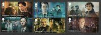 Sherlock Holmes-Great Britain 2020-set mnh-Sir Arthur Conan Doyle-