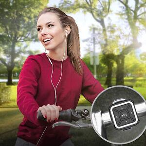 Car Steering Wheel Bike Mount Bluetooth MP3 Media Remote Control Button IPX4