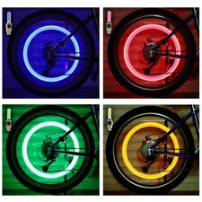 HOT LED NEON Light Valve Stem CAP for Bike Bicycle Car Motorcycle Wheel TireLamp