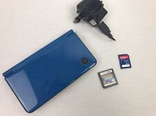 NINTENDO DSI XL BLUE   NINTENDO DS  + All Cables Comes With Pokemon Diamond DS