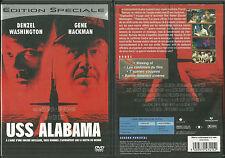 DVD - USS ALABAMA avec DENZEL WASHINGTON, GENE HACKMAN / TONY SCOTT