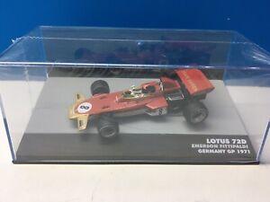Lotus 72D 1971 Germany GP Emerson Fittipaldi #8 GP IXO Altaya Eaglemoss 1:43 F1