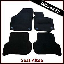 Seat Altea XL / Freetrack Pre-facelift 2006-2009 Tailored Carpet Car Mats BLACK