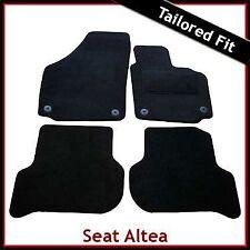SEAT Altea XL/Freetrack 2006 en Adelante a Medida Alfombra Alfombrillas De Coche Negro Equipada