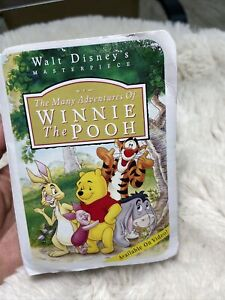 The Many Adventures of Winnie the Pooh  McDonalds Happy Meal Toy Tiger 1996