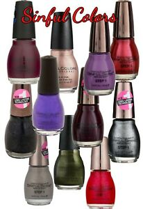 Sinful Colors Professional Nail Polish 0.5 fl oz (15 ml) (Variety)