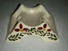 SCARCE PURINTON POTTERY SPICE RACK VINTAGE BERRY PATTERN SLIP WARE 1940'S FRUIT