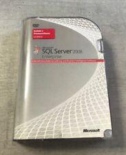MS SQL Server 2008 Enterprise Vollversion 32/64 Bit R1 deutsch 1 CPU 810-07368