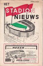 More details for willem ii manchester united 1963 football programme cup winners cup