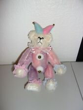 """Cute """"Just' Foolin' Round"""" Lil' Honeys by Durae Teddy Bear Excellent Pre-Owned"""