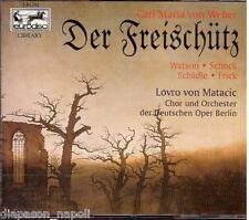 Weber: Der Freischütz / Matacic, Watson, Schock, Schadle - CD