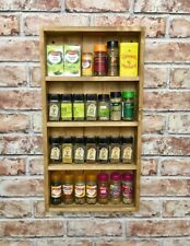 Spice Rack, reclaimed wood, rustic, chefs gift, herb rack shelf