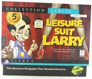 Leisure Suit Larry Collection Series Al Lowe Sierra collectors