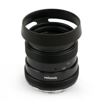 Pergear 50mm F1.8 Manual Focus Lens for Olympus Panasonic MFT Micro M4/3 Cameras