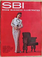SHOW BUSINESS ILLUSTRATED magazine (Playboy) '62 Gay theater URSULA ANDRESS