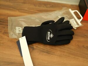 beuchat titanium diving gloves size large new with tags