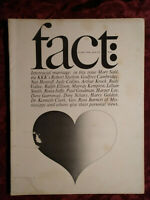 FACT January-February 1966 Interracial Marriage Sloan Wilson Rick Schreiter