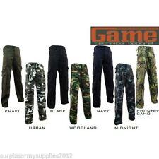 Pantalones de hombre en color principal verde 100% algodón