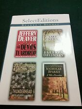 4 Books in 1 Readers Digest - Jeffery Deaver, Barbara Delinsky, Nicholas Sparks