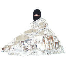 New In Packaging Survival Emergency Blanket 82x52 Silver Reflects 90% Body Heat