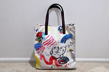 NWT MARC BY MARC JACOBS B.Y.O.T. Collage Print North/South Tote MSRP $250