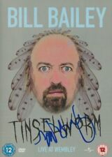 More details for bill bailey   **hand signed**  dvd  ~  autographed  ~  tinselworm
