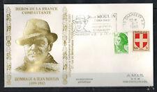 1983-Enveloppe Philatélique 1°Jour**J.Moulin-Obl.Chambery-Timbre -Yt.836/2219