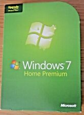WINDOWS 7 HOME PREMIUM UPGRADE 32 AND 64 BIT WITH PRODUCT KEY