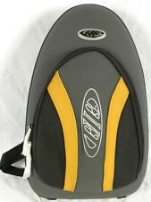 EMMC Gig Flute Case Backpack Zippered Band Instrument Accessory Black/Yellow