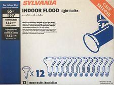 12 SYLVANIA 130-Volt Long-Life 65-Watt BR30 Indoor Floodlights - 4.6 Year Life