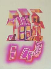 Edmundo AQUINO (1939) Lithographie signée justifiée Mexique Mexico