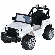 Costzon Kids Ride On Jeep Truck Car 12V2 Motor Remote Control Vehicle with LED