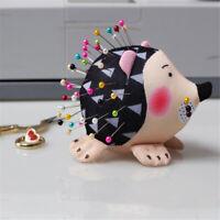 1 Pc Lovely Hedgehog Shape Pin Cushion Handmade Fabric Toy Needle Cushion Supply