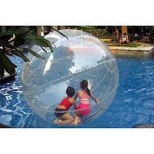 US 2M Walk Water Walking Dance Ball Roll Ball Inflatable Zorb Ball Tizip Zipper