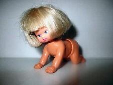figurine ancienne bebe marcheur wind up (6x9cm)