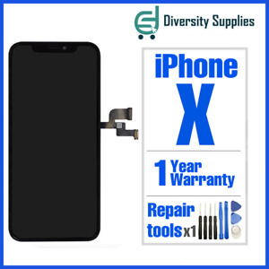 For iPhone X 10 LCD Screen Digitizer Display Replacement 3D Touch Black