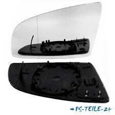 Spiegelglas für AUDI A6 C6  05,2004-10,2008  links asphärisch fahrerseite