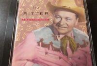 Capitol Collectors Series by Tex Ritter (CD, Feb-1992, Capitol/EMI Records) RARE