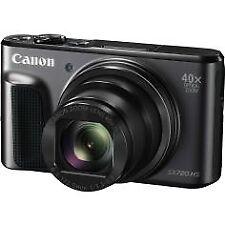 Camara canon Sx-720hs 20mpxl FHD 80x negra