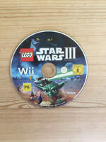 LEGO Star Wars III (3) The Clone Wars for Nintendo Wii *Disc Only*