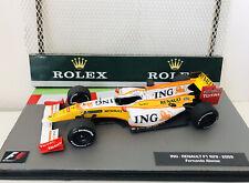F1 Coche Colección adición-ING Renault F1 R28 Fernando Alonso -2009 Excelente