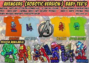 Tshirt Baby & Kids (Robotic Design)