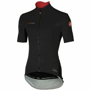 Castelli Mens Perfetto Light Windstopper Cycling Jersey - Black 4516045 010