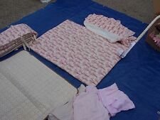 Baby Girls Brown Pink Cream Nursery Crib Bedding Set Dwell studio comforter