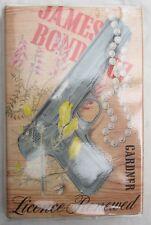 JOHN GARDNER - LICENCE RENEWED - JAMES BOND 007- 1st UK EDITION 1981